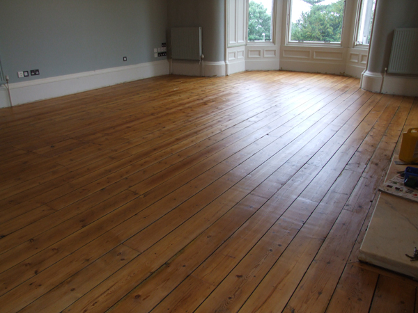 A renovated floor