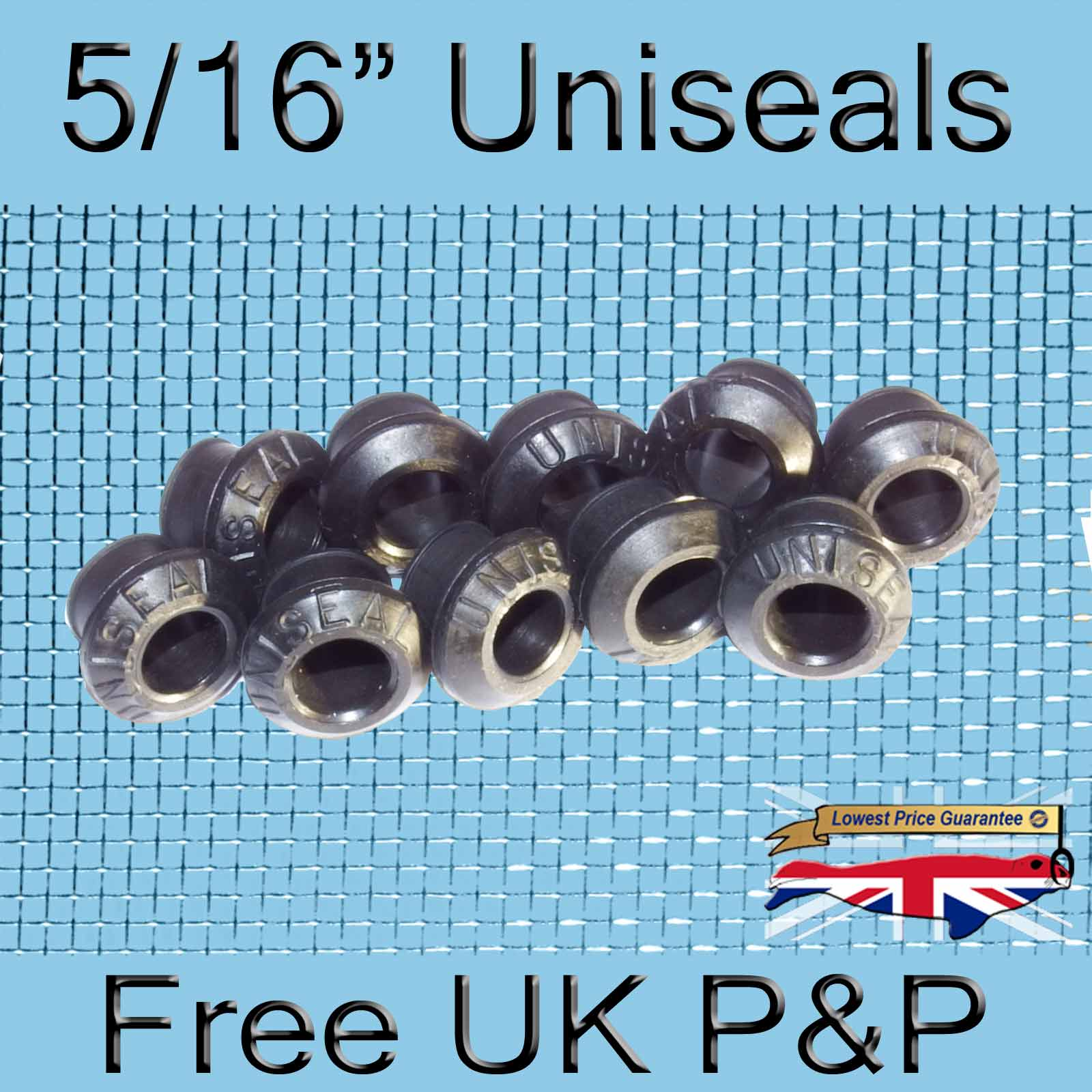 Magnify 5/16 inch Uniseal photo 10xfive-sixteenths-Uniseal-Tank-Connector.jpg