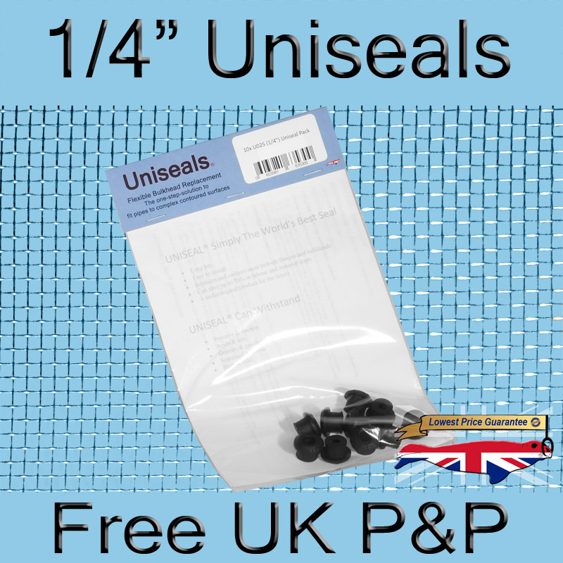 Magnify 1/4 inch Uniseal photo U025_UK_Uniseal_10_Pack.jpg