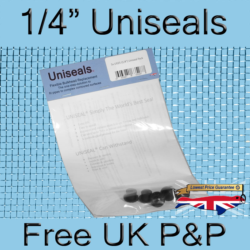 Magnify 1/4 inch Uniseal photo U025_UK_Uniseal_5_Pack.jpg