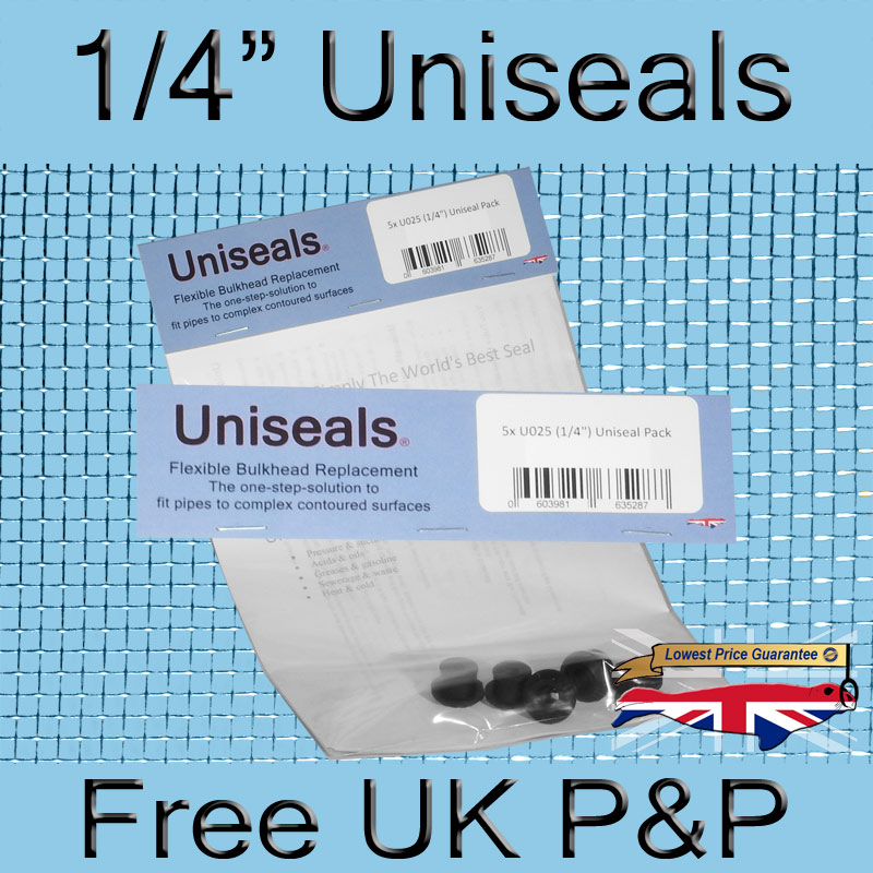 Magnify 1/4 inch Uniseal photo U025_UK_Uniseal_5_PackTop.jpg