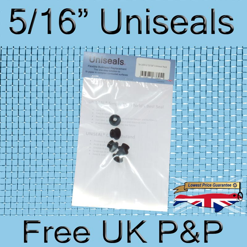 Magnify 5/16 inch Uniseal photo U0312_Uniseals_5Pack_UK.jpg
