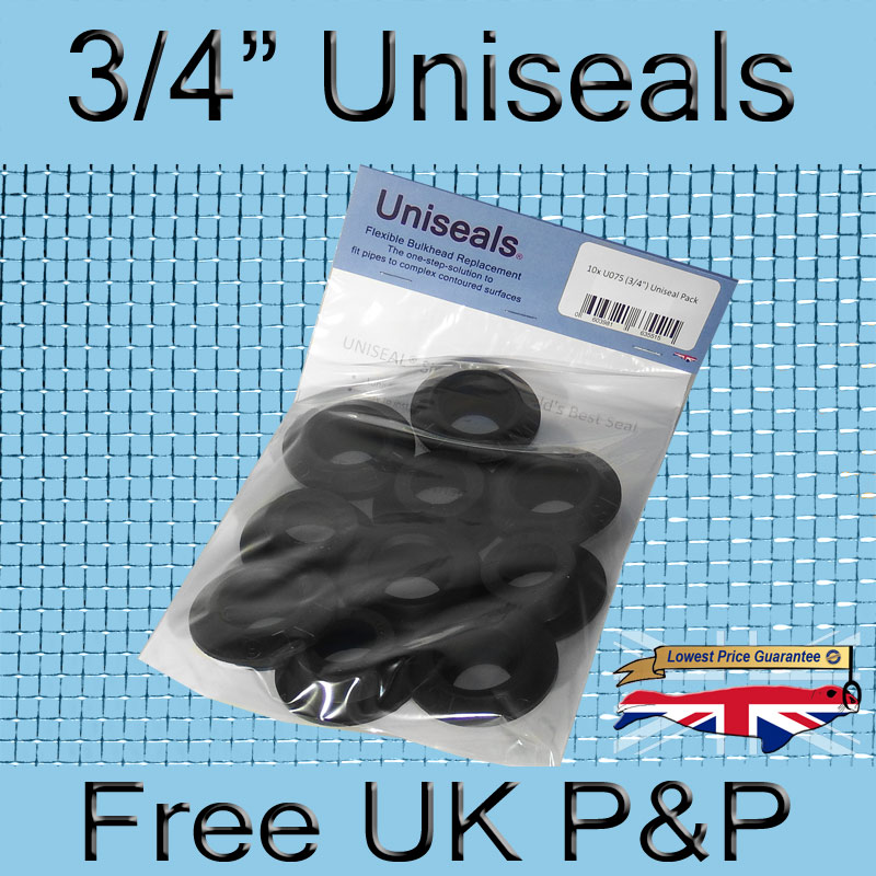 Magnify 3/4 inch Uniseal photo U075_UK_Uniseal_10_Pack.jpg