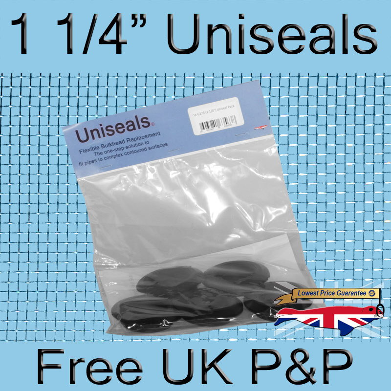 Magnify 1 1/4 inch Uniseal photo U125_UK_Uniseal_5_Pack.jpg